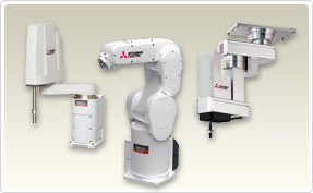 robotic arms form mitsubishi