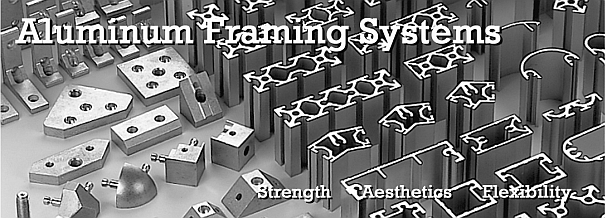 aluminum extrusions and framing parts
