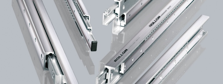 telescopic guides